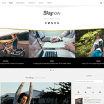 Blogrow Wordpress Theme
