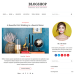BlogShop WordPress Theme