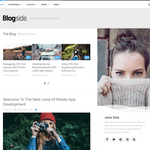 Blogside Wordpress Theme