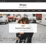 Blorigan Wordpress Theme