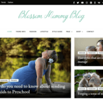 Blossom Mommy Blog Wordpress Theme