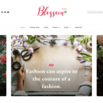 Blossom PinThis Wordpress Theme