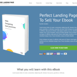 Book Landing Page Wordpress Theme