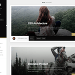 Boxcard Wordpress Theme