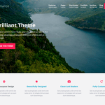 Brilliance WordPress Theme