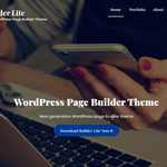 Builder Lite Wordpress Theme