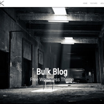 Bulk Blog Wordpress Theme