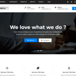 Business Cast Wordpress Theme