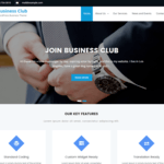 Business Club WordPress Theme