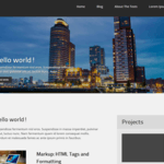 business contra Wordpress Theme