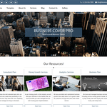 Business Cover Lite Wordpress Theme