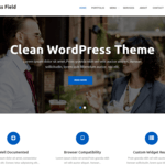Business Field Wordpress Theme