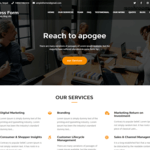Business Form Wordpress Theme