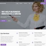 Business Gravity Wordpress Theme