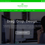 Business Green Wordpress Theme