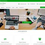Business Hour Wordpress Theme