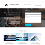 Business Lander WordPress Theme