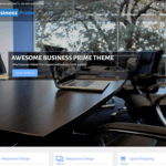 Business Prime WordPress Theme