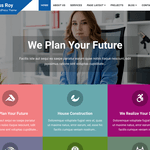 Business Roy WordPress Theme