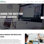 Business Shuffle Wordpress Theme