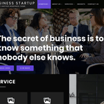 Business Startup Wordpress Theme