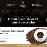 Cafe Coffee Shop WordPress Theme
