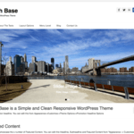 Catch Base Wordpress Theme