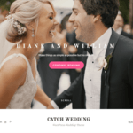Catch Wedding Wordpress Theme