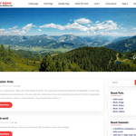 CGS Travel Agency WordPress Theme