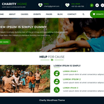 Charity Fundraiser WordPress Theme