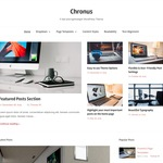 Chronus Wordpress Theme
