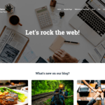 Cinder Wordpress Theme