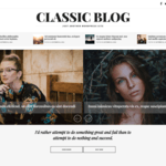 Classic Blog Wordpress Theme