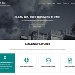 Clean Biz Wordpress Theme
