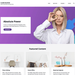 Clean Blocks Wordpress Theme