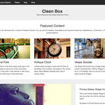 Clean Box WordPress Theme