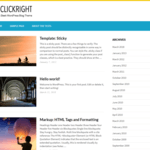 Clickright Lite WordPress Theme