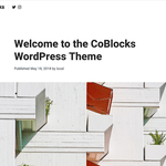 CoBlocks WordPress Theme