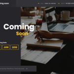 Coming Soon Lite Wordpress Theme