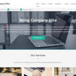 Company Elite Wordpress Theme