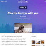 componentz WordPress Theme