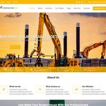 Construction Field Wordpress Theme