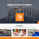 Construction Hub Wordpress Theme
