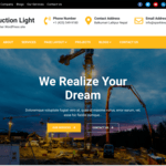 Construction Light WordPress Theme