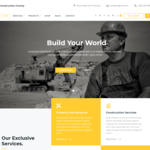 Constrution Gravity Wordpress Theme