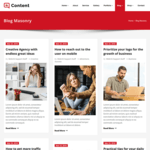 Content WordPress Theme