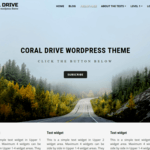 Coral Drive Wordpress Theme