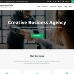 Corporate Club Wordpress Theme