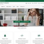 Corporate Company Wordpress Theme