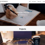 Corporate Fotografie WordPress Theme
